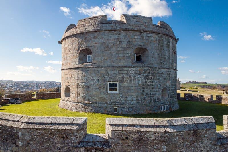 Замок Pendennis стоковые фотографии rf
