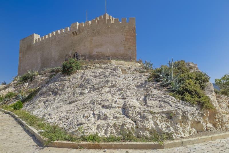 Замок Petrer стоковые изображения