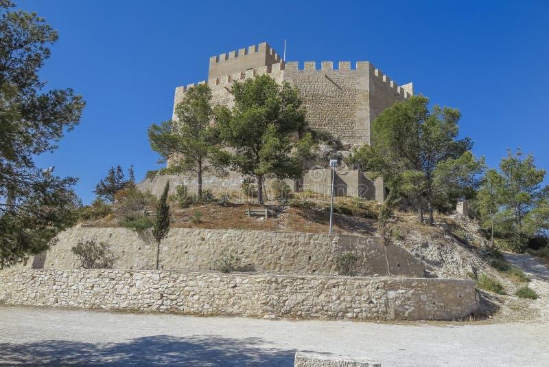Замок Petrer стоковое изображение