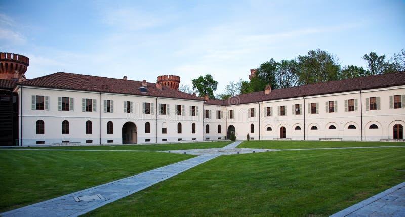 Замок Pollenzo, бюстгальтер, Cuneo. стоковые фотографии rf