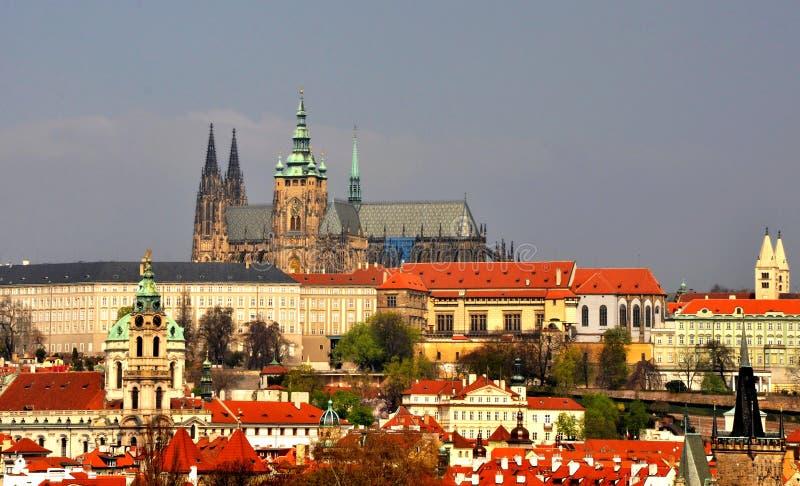 Замок Prag стоковая фотография rf