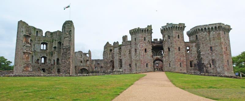 Замок Raglan стоковое фото rf