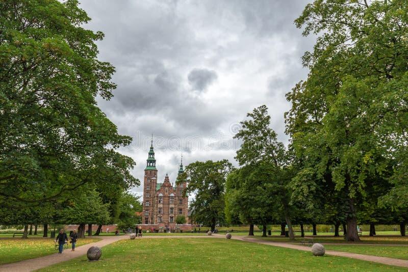 Замок Rosenborg стоковые изображения rf