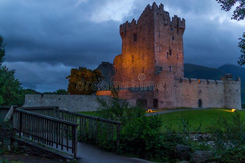 Замок Ross, Killarney 2 стоковое изображение rf