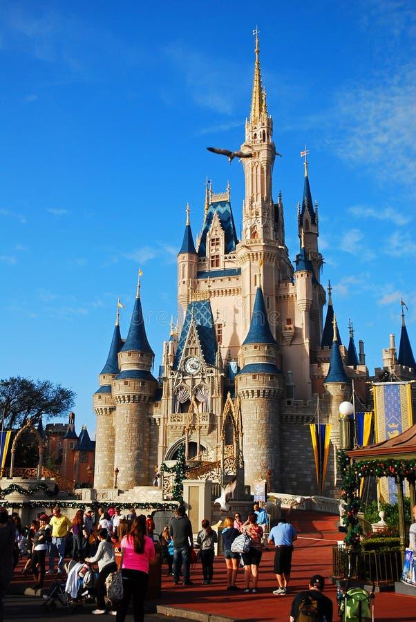 Замок ` s Золушкы на мире Уолт Дисней стоковая фотография rf