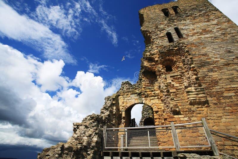 Замок Scarborough стоковая фотография rf