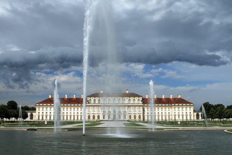 Замок Schleissheim, Мюнхен стоковое изображение rf