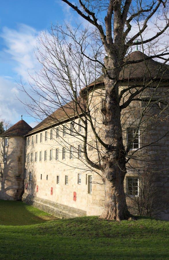 Замок Schorndorf - II - Wuerttemberg - Германия стоковые фотографии rf