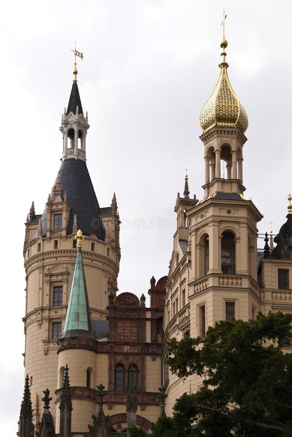 замок schwerin стоковое изображение rf