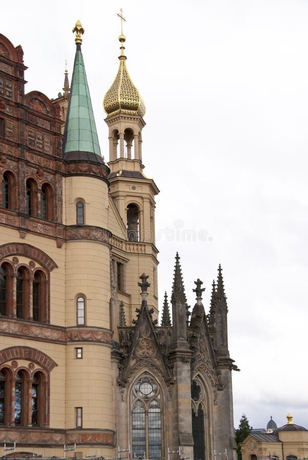 замок schwerin стоковая фотография