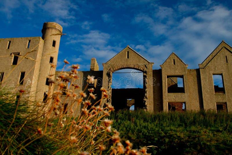 Замок Slains стоковая фотография rf