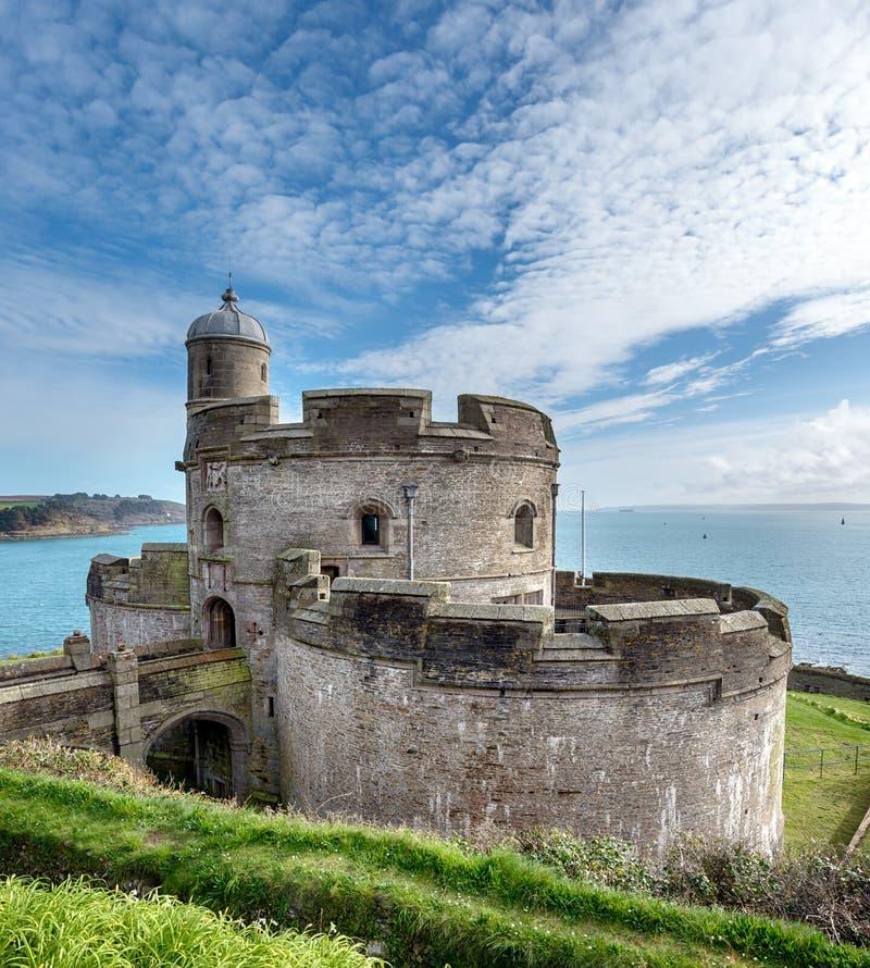 Замок St Mawes стоковое фото