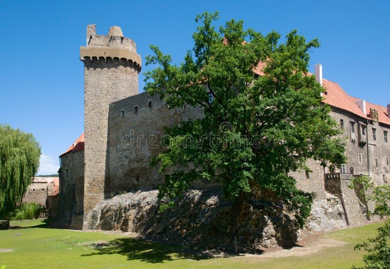Замок Strakonice, чехия стоковая фотография rf