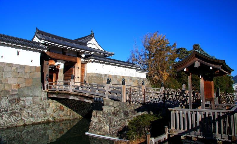 Замок Sunpu, город Shizuoka, Япония стоковые изображения