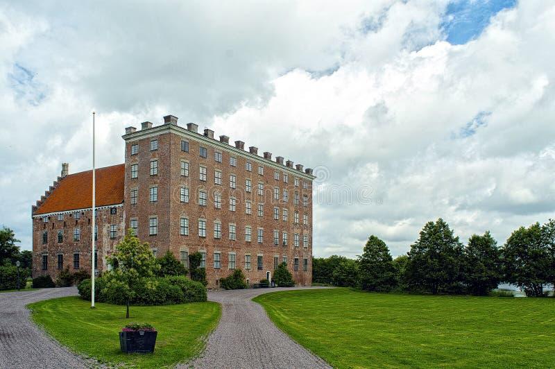 Замок Svaneholms в skane Швеции стоковые изображения
