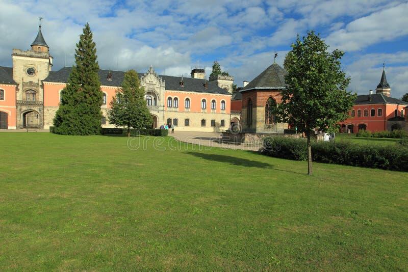 Замок Sychrov стоковое изображение