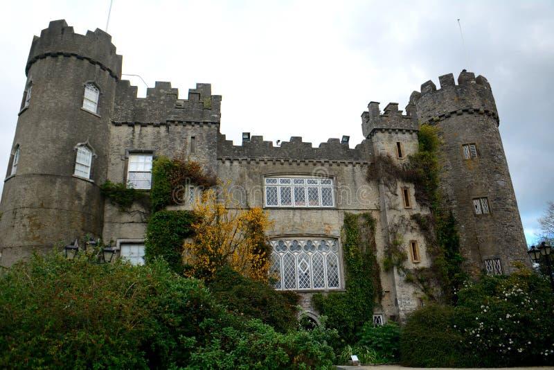 Замок Talbot, Malahide, Ирландия стоковое изображение