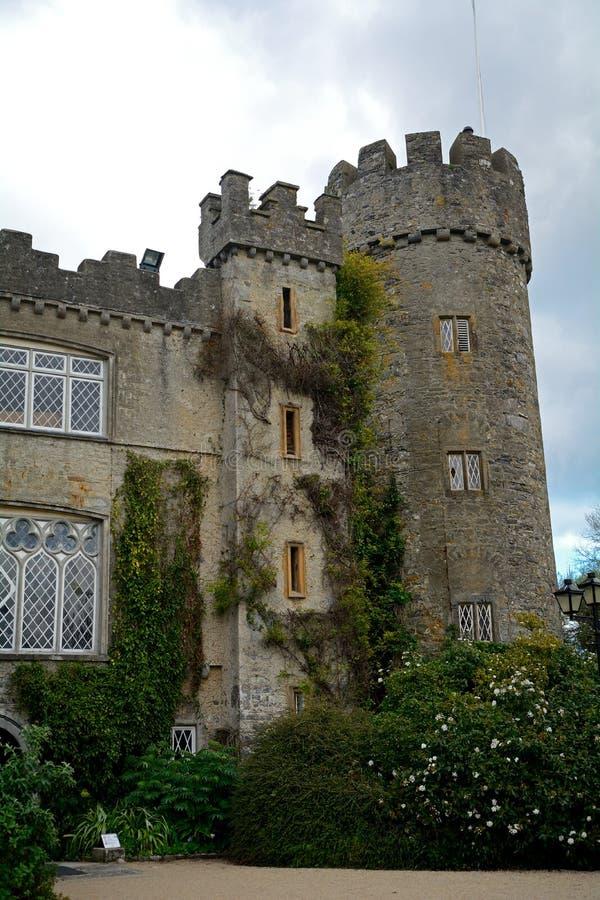 Замок Talbot, Malahide, Ирландия стоковые изображения rf