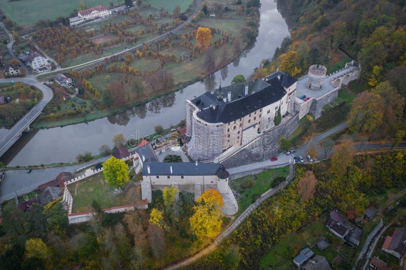 Замок ternberk ½Å ÄŒeskà богемский замок середины тринадцатого века стоковые изображения rf