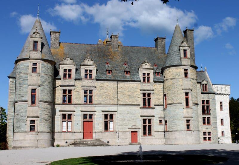 Замок Tourlaville стоковая фотография rf