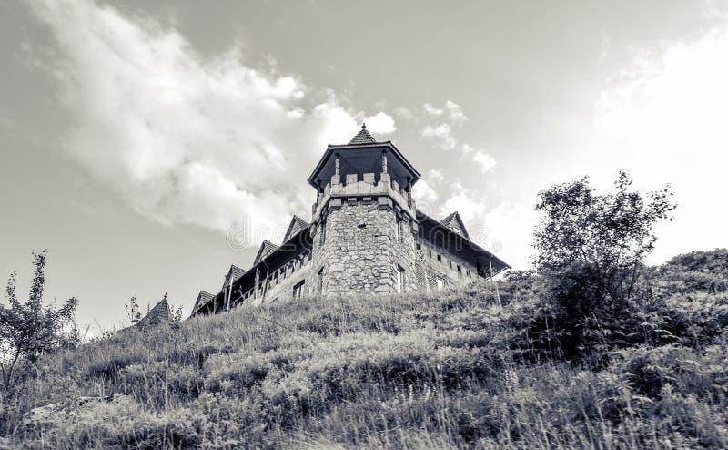 Замок Transilvania стоковое изображение rf