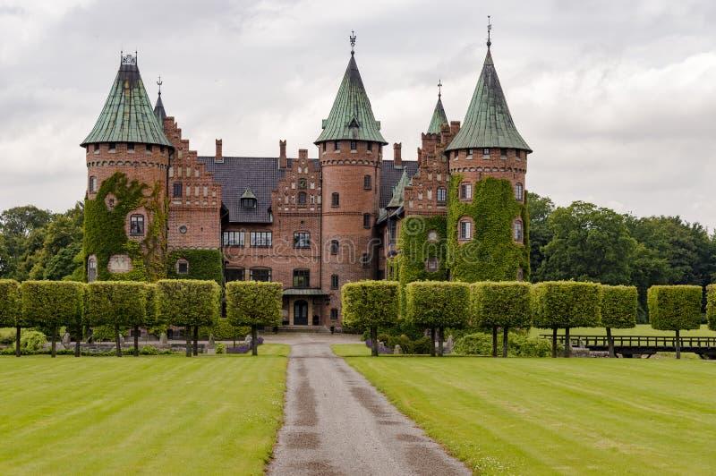 Замок Trolleholm стоковое фото