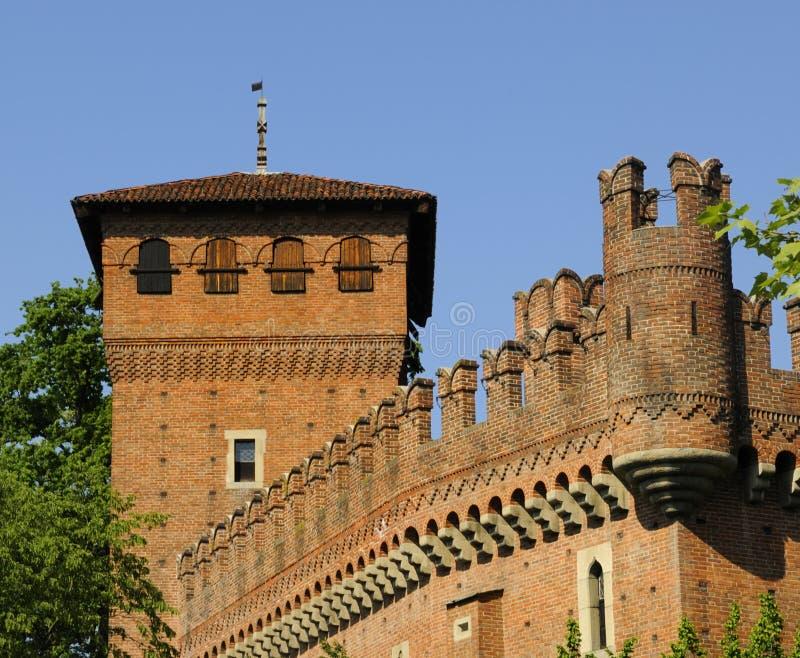 замок turin стоковое фото