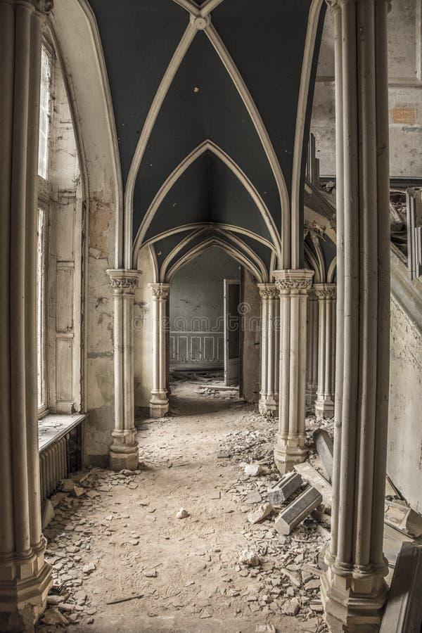Замок Urbex стоковая фотография rf