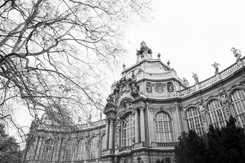 Замок Vajdahunyad в Будапешт, Венгрии стоковое изображение rf
