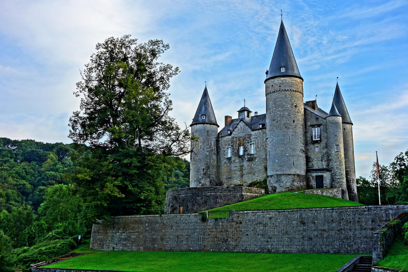 Замок Veves стоковые фотографии rf