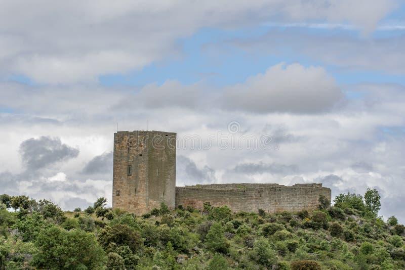 Замок Vila Maior средневековый в Португалии стоковые изображения rf