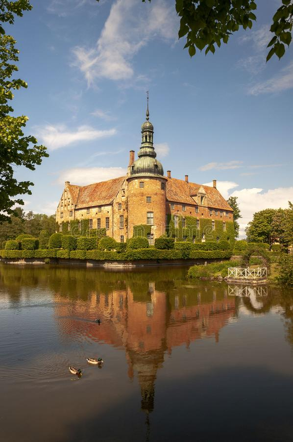 Замок Vittsovle стоковая фотография rf