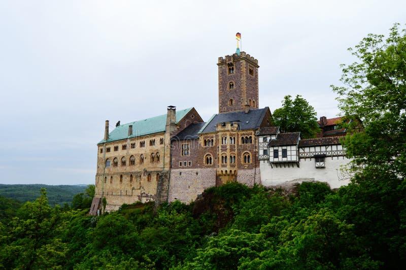 Замок Wartburg стоковое изображение rf