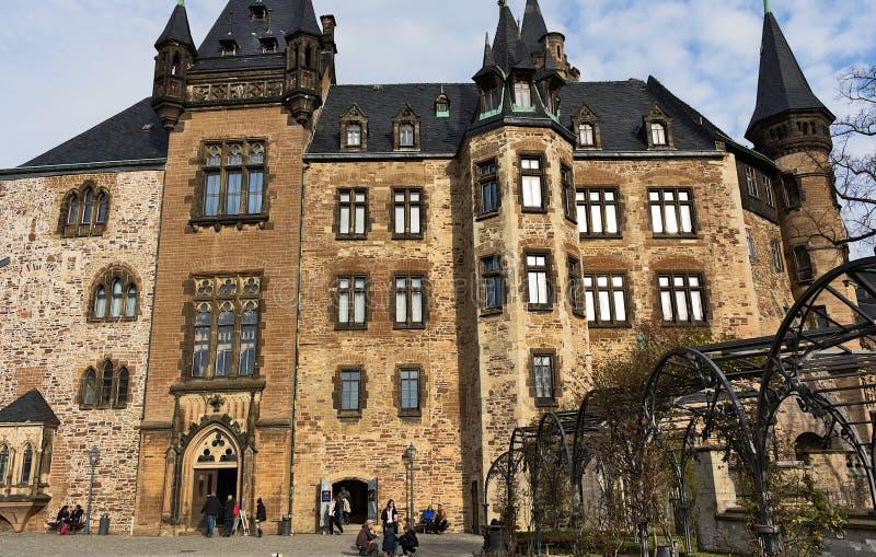 Замок Wernigerode - II - Harz - Германия стоковые фото