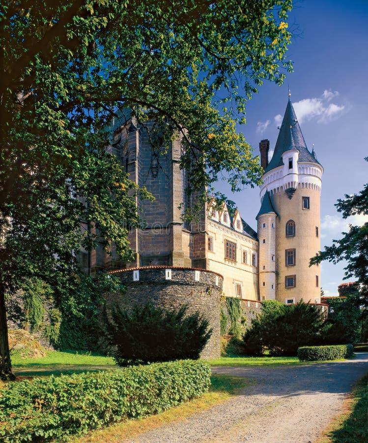 Замок 01 Zleby стоковое изображение