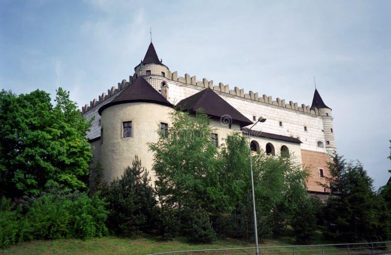 Замок, Zvolen, Словакия стоковое фото rf