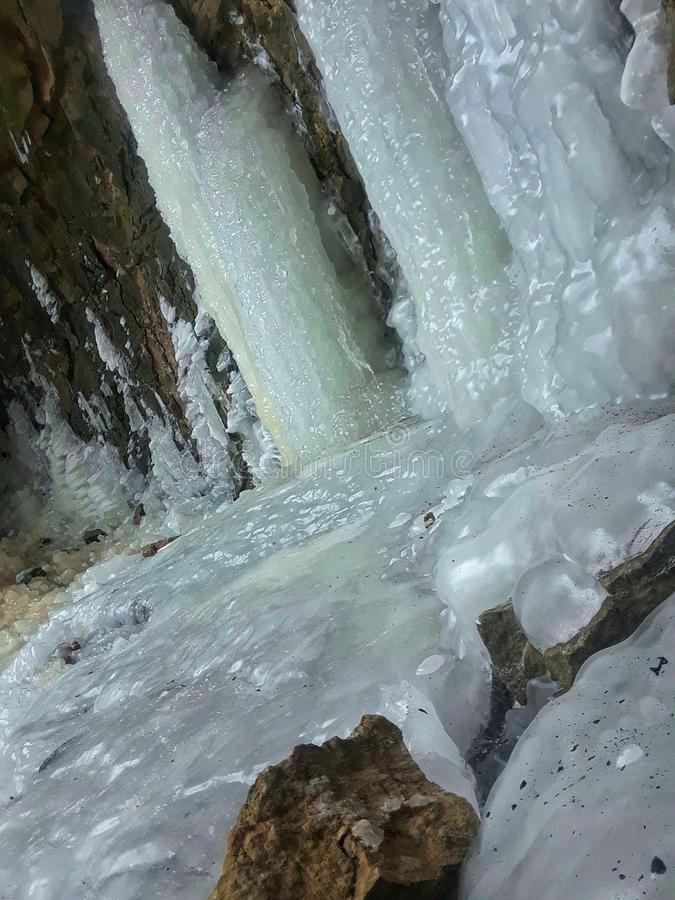 замороженная вода стоковые фото