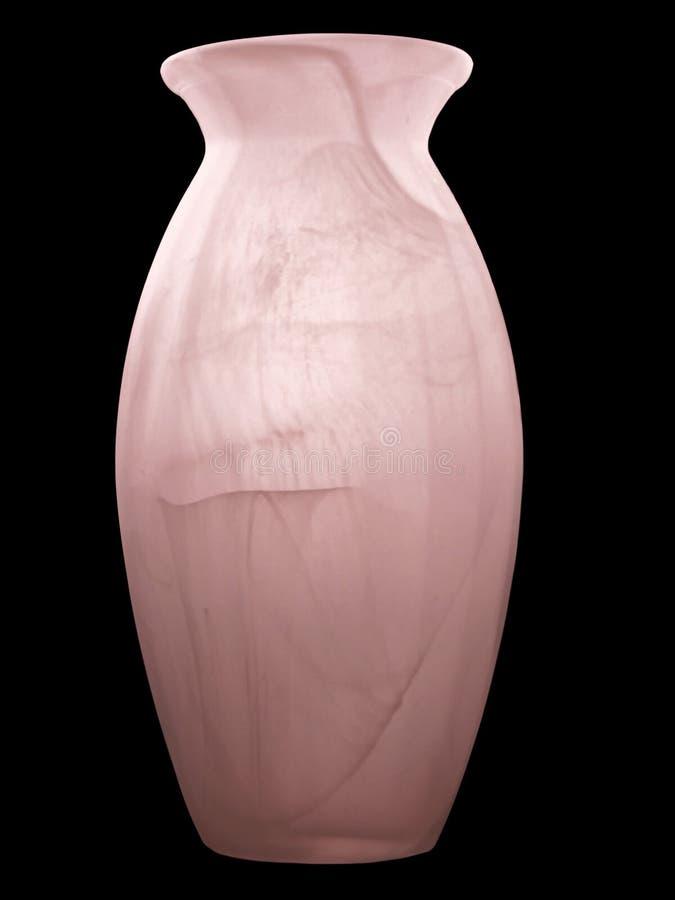 замороженная красная ваза Стоковые Фото