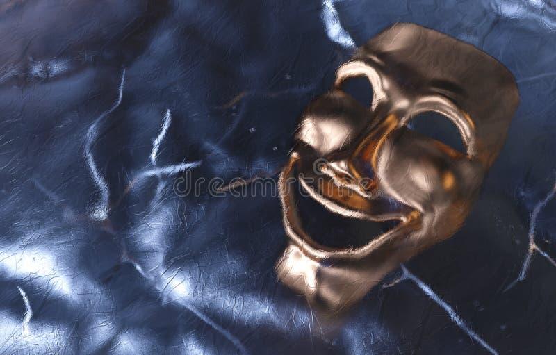 Замороженная маска иллюстрация вектора
