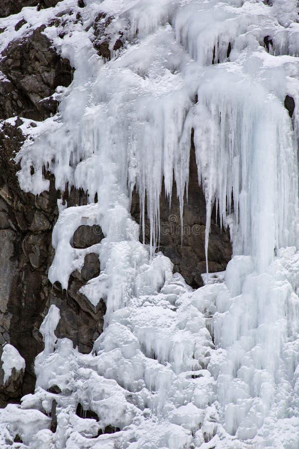 Замороженная стена стоковое изображение