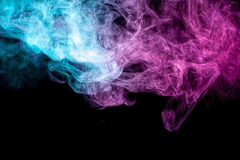 Замороженное абстрактное движение дыма взрыва стоковая фотография rf