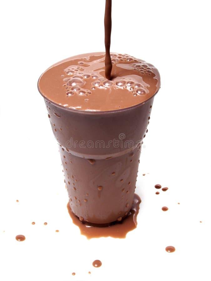 Download Замороженное шоколадное молоко Стоковое Фото - изображение насчитывающей жажда, стекло: 33725246