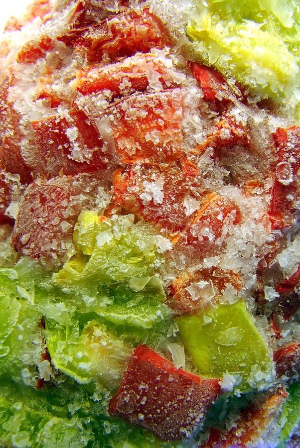 замороженное paprica стоковое фото