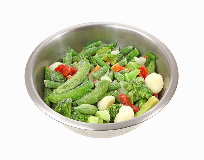 замороженные овощи stir fry стоковые изображения