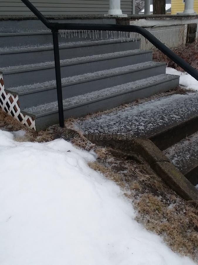 замороженные шаги стоковые изображения