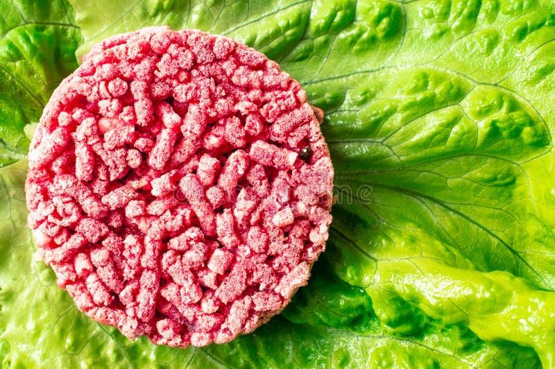 замороженный гамбургер стоковые фото