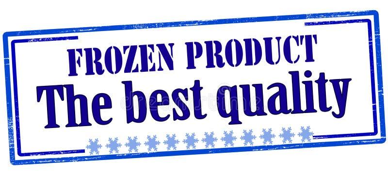 Замороженный продукт самое лучшее качество иллюстрация штока