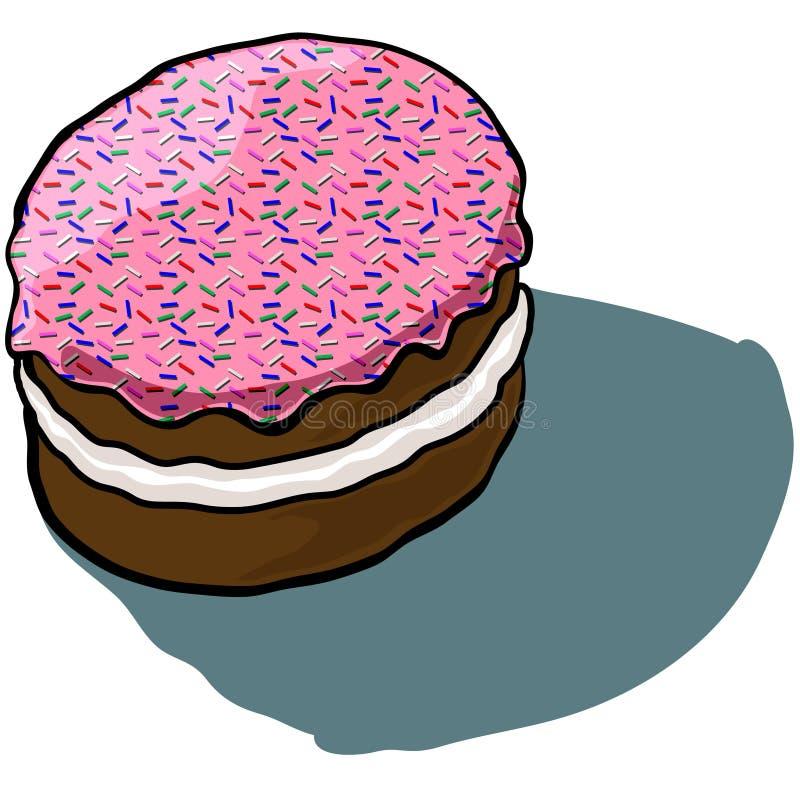 Замороженный торт стоковое изображение
