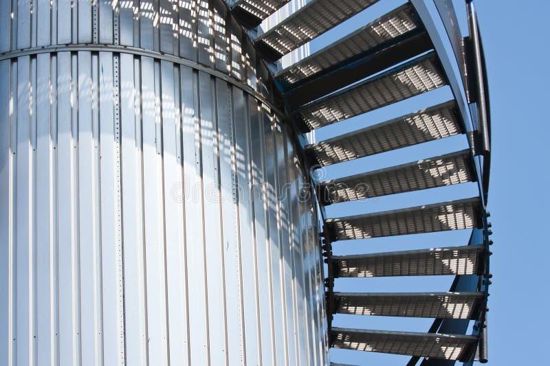 замотка башни лестницы верхняя стоковая фотография rf