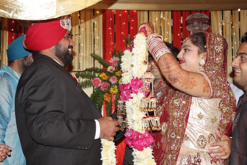 замужество индейца церемонии стоковые фотографии rf